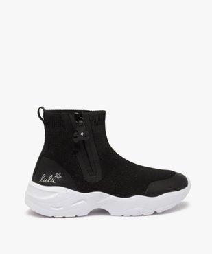 Baskets fille style chaussettes zippées – Lulu Castagnette vue1 - LULU CASTAGNETT - Nikesneakers