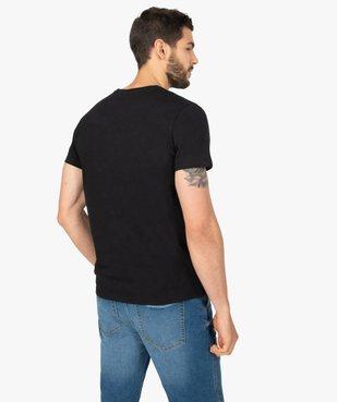 Tee-shirt homme à manches courtes imprimé - Retour vers le futur vue3 - NBCUNIVERSAL - GEMO