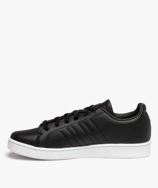 Baskets garçon unies logo – Adidas Grand Court LTS K vue3 - ADIDAS - Nikesneakers
