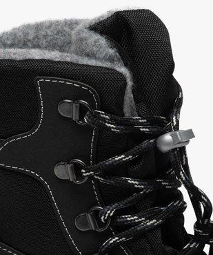 Après-skis homme style chaussures de montagne à lacets vue6 - GEMO (EQUIPT) - GEMO
