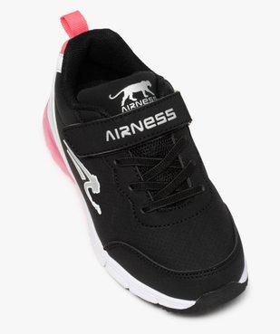 Baskets fille bicolores à scratch – Airness vue5 - AIRNESS - GEMO