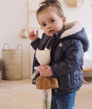 Parka bébé fille pailletée à doublure chaude - Lulu Castagnette vue1 - LULUCASTAGNETTE - GEMO