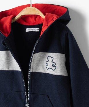 Sweat bébé garçon zippé à capuche – Lulu Castagnette vue5 - LULUCASTAGNETTE - Nikesneakers
