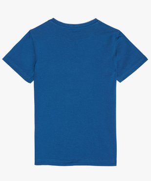 Tee-shirt garçon avec motif en sequins réversibles vue3 - GEMO (ENFANT) - GEMO