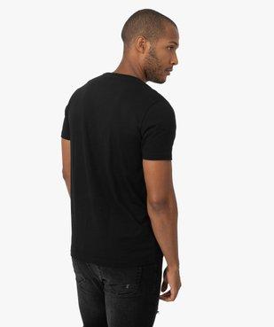 Tee-shirt homme avec motif Retour vers le futur vue3 - NBCUNIVERSAL - GEMO