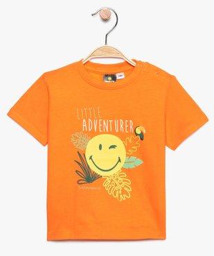 Tee-shirt bébé garçon à motifs - SmileyWorld vue1 - SMILEY - GEMO