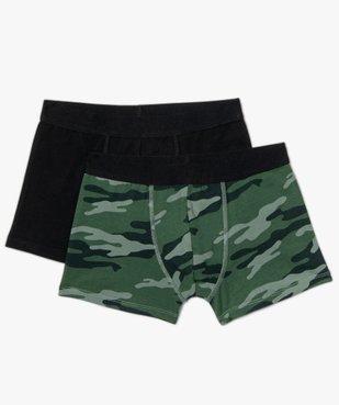 Boxer garçon à motif camouflage (lot de 2) vue1 - Nikesneakers C4G GARCON - Nikesneakers