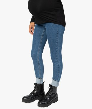 Jean grossesse coupe slim avec taille élastiquée vue1 - Nikesneakers (MATER) - Nikesneakers