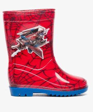 Bottes de pluie garçon à imprimé Spiderman vue1 - SPIDERMAN - GEMO
