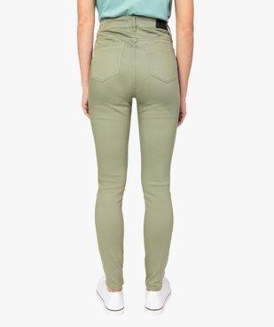 Pantalon femme Skinny taille haute super stretch vue3 - GEMO(FEMME PAP) - GEMO