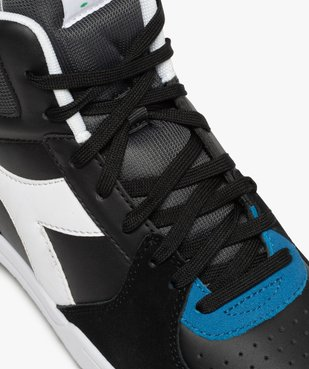 Baskets homme semi-montantes à lacets – Diadora vue6 - DIADORA - GEMO