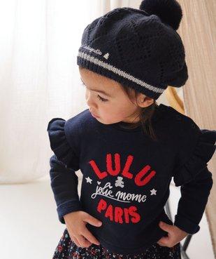 Robe bébé fille effet 2 en 1 – Lulu Castagnette vue6 - LULUCASTAGNETTE - GEMO