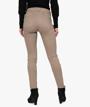 Pantalon femme coupe slim effet push-up vue3 - Nikesneakers(FEMME PAP) - Nikesneakers