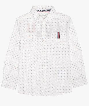 Chemise garçon à petits motifs – Lulu Castagnette vue1 - LULUCASTAGNETTE - Nikesneakers