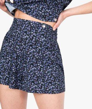 Bas de pyjama femme à motifs fleuris – Lulu Castagnette vue2 - LULUCASTAGNETTE - GEMO
