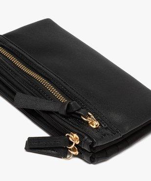 Portefeuille femme multimatière vue2 - GEMO (ACCESS) - GEMO
