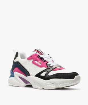 Baskets femme en mesh façon dad shoes - Ellesse vue2 - ELLESSE - GEMO