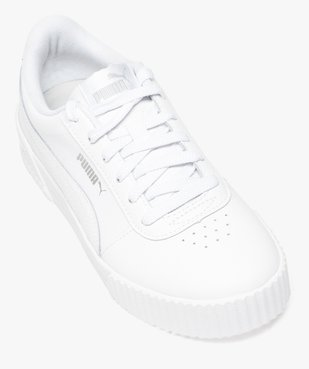 Baskets femme dessus cuir à lacets - Puma Carina L vue5 - PUMA - Nikesneakers