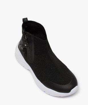 Baskets fille style chaussettes zippées – Lulu Castagnette vue5 - LULU CASTAGNETT - Nikesneakers