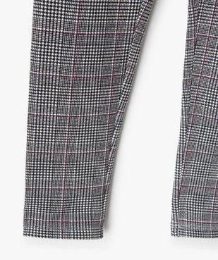 Pantalon fille en maille extensible à carreaux vue2 - Nikesneakers (ENFANT) - Nikesneakers