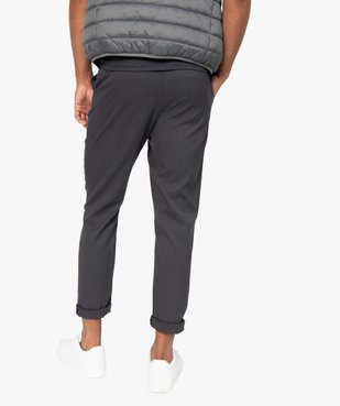 Pantalon homme en maille milano à taille élastiquée vue3 - Nikesneakers (HOMME) - Nikesneakers