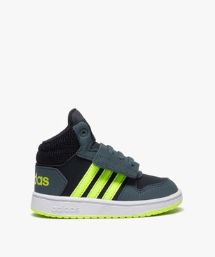 Baskets bébé garçon semi-montantes – Adidas Hoops Mid vue1 - ADIDAS - GEMO