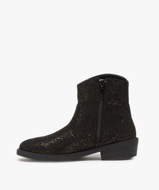 Boots fille pailletés façon camarguaise  vue3 - Nikesneakers (ENFANT) - Nikesneakers