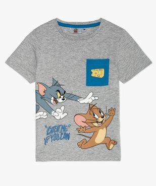 Tee-shirt garçon avec motif XXL – Tom and Jerry vue1 - TOM ET JERRY - GEMO
