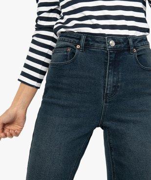 Jean femme en stretch coupe Skinny taille haute vue6 - GEMO(FEMME PAP) - GEMO