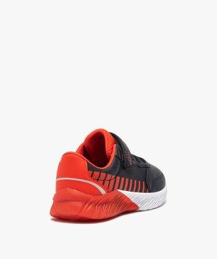 Baskets garçon contrastantes + sac de gym offert vue4 - GEMO (ENFANT) - GEMO