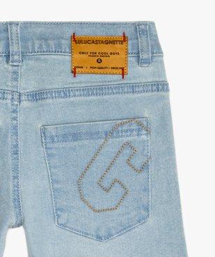 Bermuda garçon en jean stretch - Lulu Castagnette vue5 - LULUCASTAGNETTE - GEMO