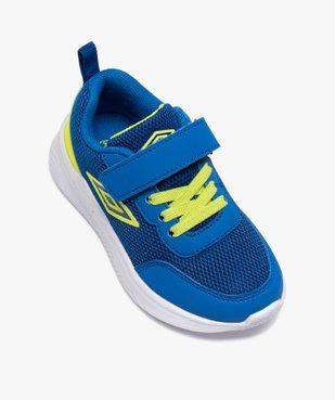 Chaussures de running garçon à scratch - Umbro vue5 - UMBRO - GEMO