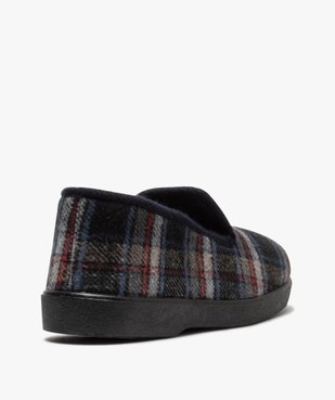 Chaussons pour homme style charentaises à carreaux vue4 - Nikesneakers C4G HOMME - Nikesneakers