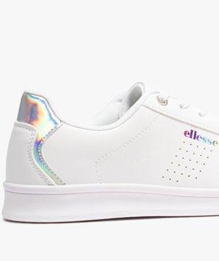 Tennis femme unies à lacets - Ellesse vue6 - ELLESSE - Nikesneakers