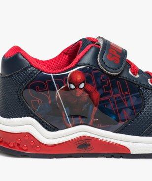Baskets garçon semelle lumineuse et scratch Spider-Man vue6 - SPIDERMAN - GEMO
