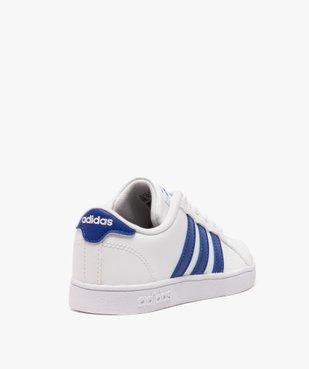 Basket enfant à lacets bicolore Baseline K - Adidas vue4 - ADIDAS - GEMO
