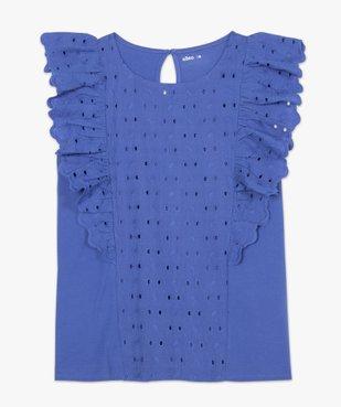 Tee-shirt femme bi-matières ajouré sur l'avant vue4 - Nikesneakers(FEMME PAP) - Nikesneakers