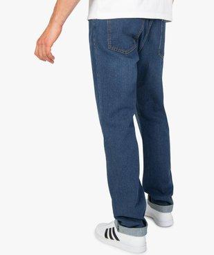 Jean homme coupe Regular légèrement délavé  vue3 - Nikesneakers C4G HOMME - Nikesneakers