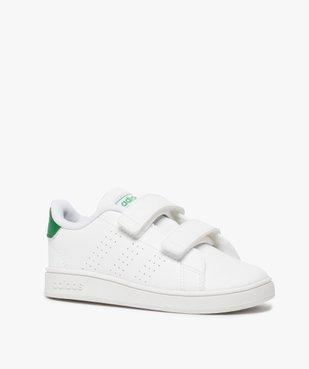 Baskets garçon unies à scratch – Adidas vue2 - ADIDAS - Nikesneakers