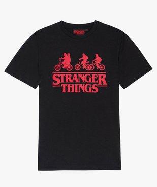 Tee-shirt garçon avec motif contrastant – Stranger Things vue1 - STRANGER THINGS - GEMO