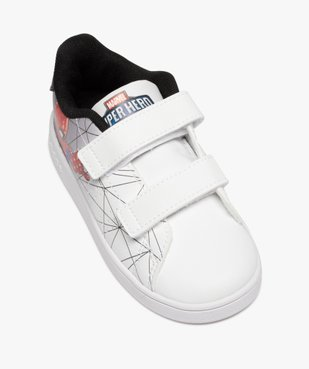 Baskets garçon à scratch – Adidas Advantage Spiderman vue5 - ADIDAS - GEMO