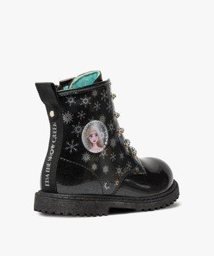 Boots fille pailletés à semelle crantée – Reine des Neiges vue4 - REINE DES NEIGE - GEMO