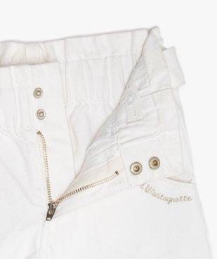Pantalon fille coupe large avec ceinture – Lulu Castagnette vue3 - LULUCASTAGNETTE - GEMO