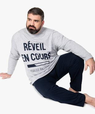 Pyjama homme à manches longues vue1 - Nikesneakers(HOMWR HOM) - Nikesneakers