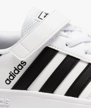 Baskets enfant à lacets et scratch – Adidas Breaknet vue6 - ADIDAS - Nikesneakers