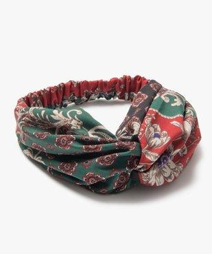 Bandeau pour les cheveux femme à motifs fleuris vue1 - GEMO (ACCESS) - GEMO