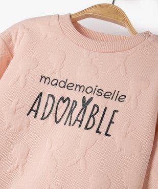 Pyjama bébé garçon 2 pièces avec motif lionceau  vue2 - GEMO(BB COUCHE) - GEMO
