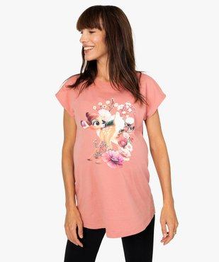 Tee-shirt de grossesse loose à manches courtes - Disney vue1 - DISNEY DTR - GEMO