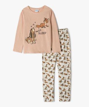 Pyjama fille avec motif Rox et Rouky - Disney vue1 - DISNEY DTR - Nikesneakers