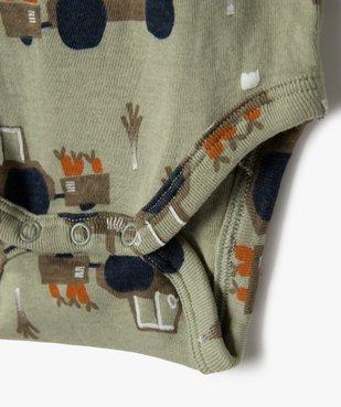 Body bébé manches longues motifs jardinage (lot de 3) vue4 - GEMO C4G BEBE - GEMO